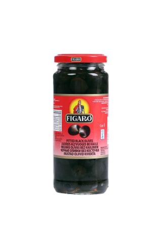 Melnās olīvas Figaro bez kauliņiem 340g