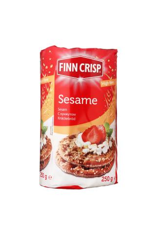 Duonos paplotėliai su sezamu FINN CRISP, 250 g