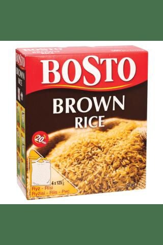 Rudieji ryžiai bosto 4x125g