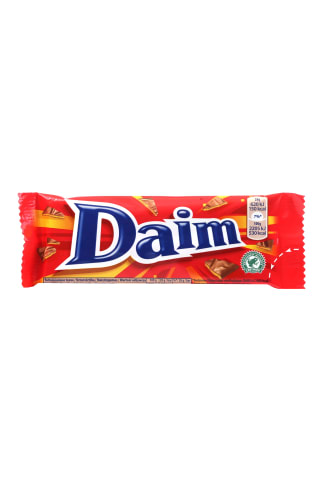 Šokolādes batoniņs Daim ar karameli 28g