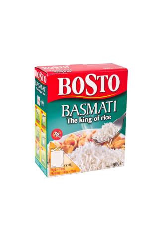 Basmati ryžiai bosto 4x125g
