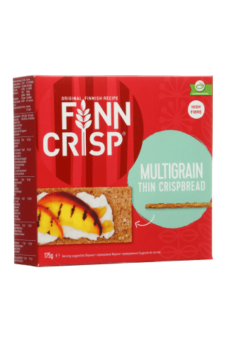 Įvairių grūdų duonos traškučiai FINN CRISP, 175 g