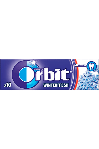 Košļājamā gumija Orbit Winterfresh 14g