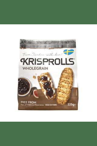 KRISPROLLS® Švediški pilno grūdo skrebučiai, 225 g