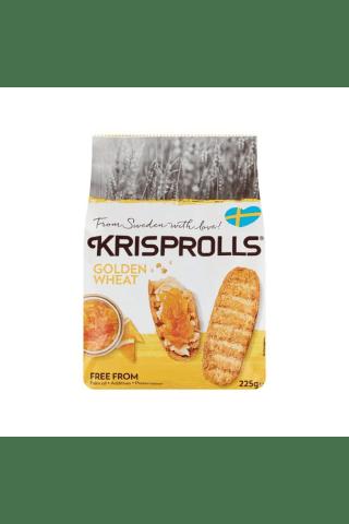 Švediški kvietiniai skrebučiai KRISPROLLS, 225 g