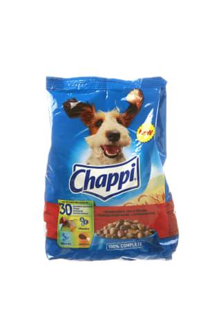 Sausas šunų ėdalas su jautiena ir paukštiena CHAPPI, 500 g