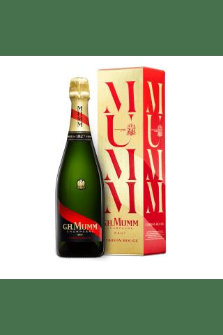 Šampanietis Mumm Cordon Rouge Brut Chardonnay, Pinot Meurnier sausais 12% 0,75l