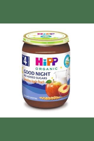 Ekologiška pieniška manų tyrelė su vaisiais HIPP, 4 mėn., 190 g