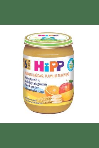 Biezenis Hipp bio ar augļiem, 190g