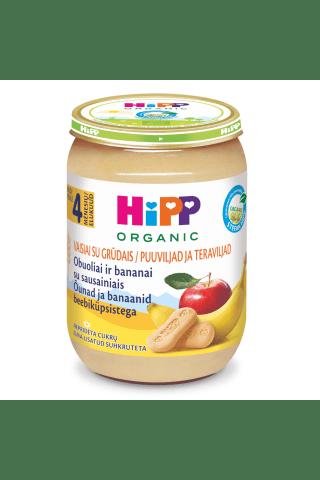 Biez. Hipp bio abolu, banānu, cep., 190g