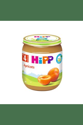 Ekologiška abrikosų tyrelė HIPP, nuo 4 mėn., 125 g