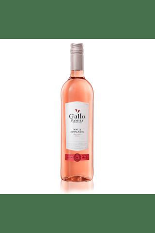 Rozā vīns Gallo White Zinfandel 9% 0,75l