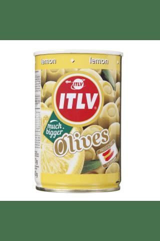 Zaļās olīvas ITLV pildītas ar citronu pastu 314ml