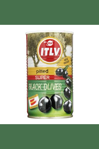 Juodosios alyvuogės be kauliukų ITLV SUPER, 370 ml