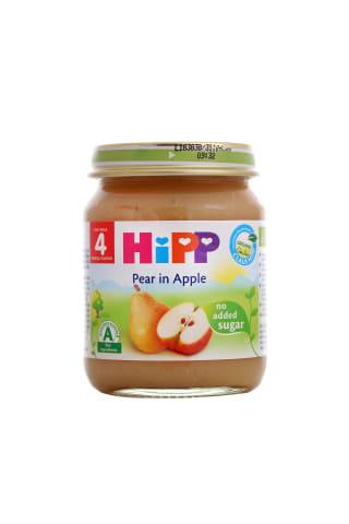Ekol.tyr.obuol.kriauš.nuo 4mėn.HIPP,125g