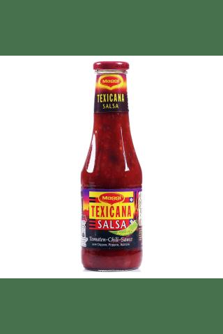 Aštrus pomidorų ir čili pipirų padažas MAGGI MEXICANA SALSA, 0,5 l