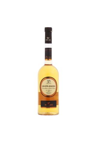 Vynuogių išspaudų spiritas MARCATI Grappa Riserva, 40%, 0,7l