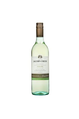 Baltasis sausas vynas JACOB'S CREEK RIESLING, 11,5 %, 0,75 l