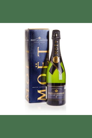 Šampanietis Moet & Chandon Nectar Chardonnay, Pinot Noir,Pinot Meunier pussausais 12% 0,75l