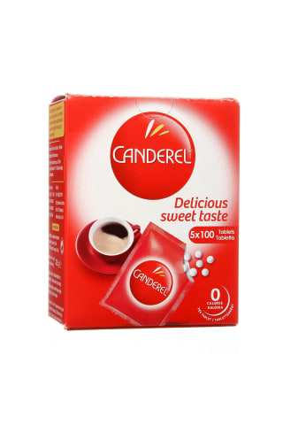Saldiklis CANDELER, 5 vnt x 100 tab., 42,5 g