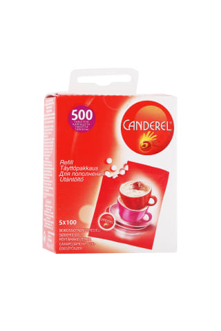 Saldinātājs Canderel refill 500gab 42.5g