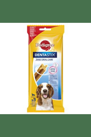 Kramtalai vyresniems nei 4 mėnesių amžiaus šuniukams PEDIGREE DENTASTIX, 3 vnt, 77 g