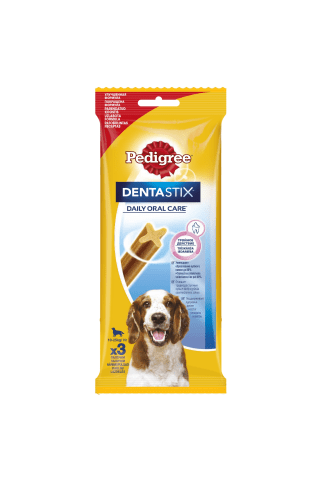 Gardums suņiem Pedigree denta stix medium 77g