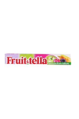 Košļājamās konfektes Fruittella Summer Garden 41g
