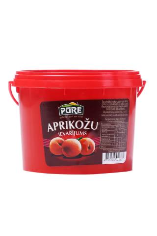 Ievārījums Pūre aprikožu 900g