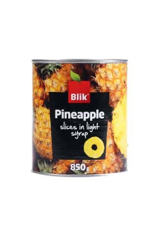 Ananasi sīrupā šķēlēs 850 g BLIK