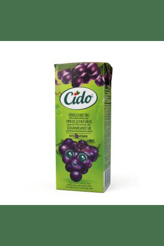 Nektārs Cido vīnogu 0.2l