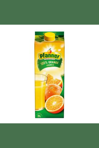 Apelsinų sultys PFANNER, 100%, 2 l