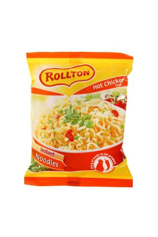 Aštrūs vištienos skonio makaronai ROLTON, 60 g