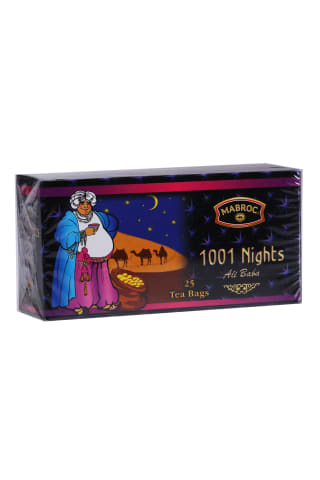 Melnā tēja Mabroc 1001 Nights 25x2g