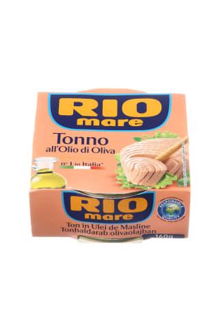 Tuno pjausnys alyvuogių aliejuje RIO MARE, 160 g