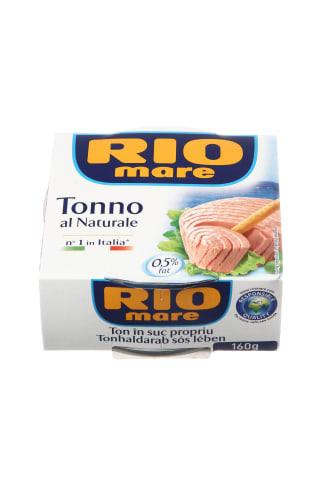 Tuno pjausnys sūryme RIO MARE, 160 g