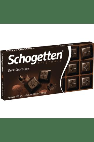 Šokoladas schogetten dark 100g