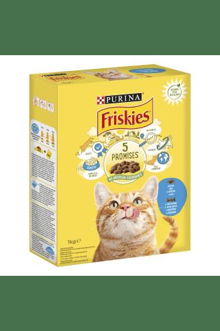Sausas kačių ėdalas su lašiša FRISKIES, 1 kg