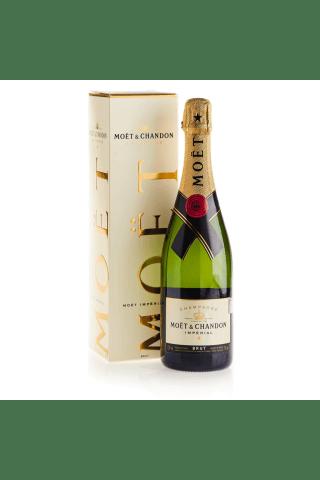 Šampanietis Moet & Chandon Imperial Pinot Meunier, Pinot Noir, Chardonnay sausais 12% 0,75l