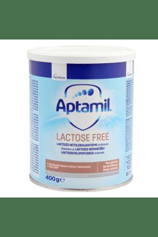 Pieno mišinys be laktozės APTAMIL, nuo gimimo, 400 g