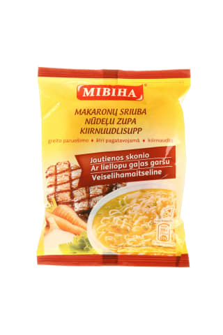 Jautienos skonio greito paruošimo makaronai MIVINA, 50 g