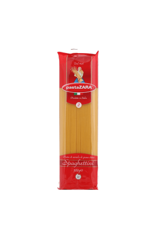 Makaroni Pasta Zara spageti Nr.2 500g