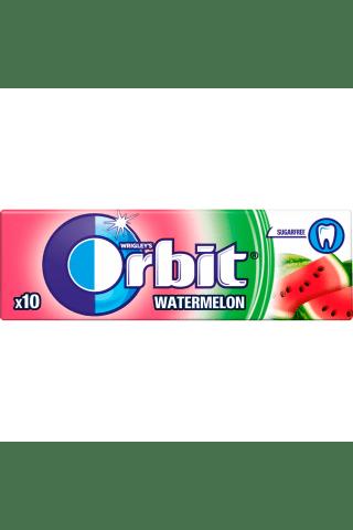 Košļājamā gumija Orbit arbūzu bez cukura 1x31