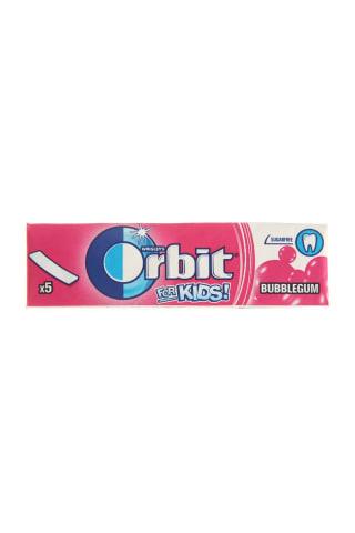 Becukrė vaisių skonio kramtomoji guma su saldikliais ORBIT, 13 g
