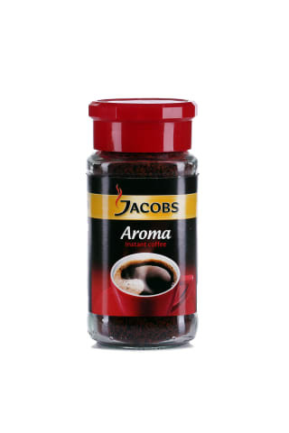 Šķīstošā kafija Jacobs Aroma 100g