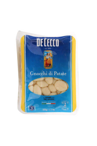 Kartupeļu klimpas Gnocchi 500g Dececco