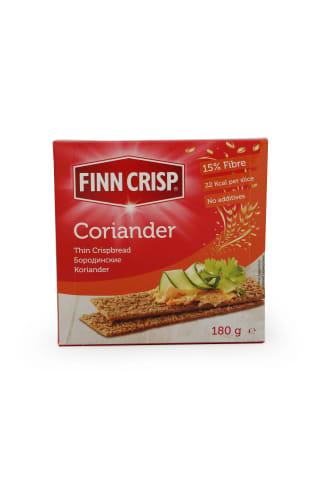 Sausmaizītes Finn Crisp plānās ar koriandru 180g