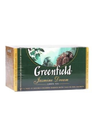Zaļā tēja Greenfield Jasmine dream 25tm 50g