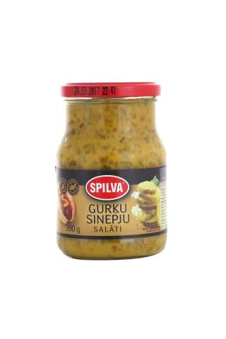Gurķu sinepju salāti Spilva 390g