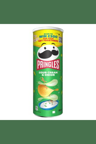 Čipsi Pringles ar krējuma un sīp. garšu 165g